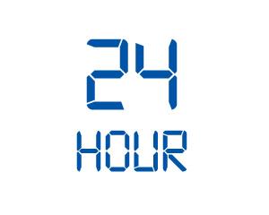 24時間体制